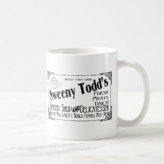 Sweeny Todd's Barber Shop & Delicatessen Mugs