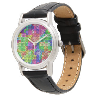 Sweeping pattern 01 watch