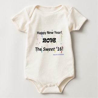 Sweet16 2016 baby bodysuit