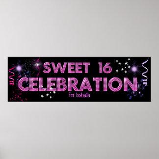 Sweet 16 Banner Poster