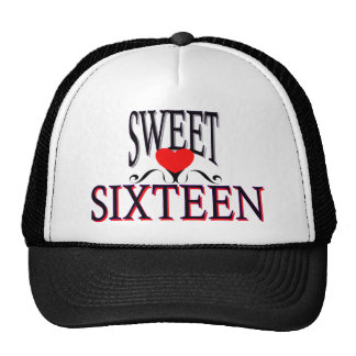 Sweet 16 Birthday Gear Cap