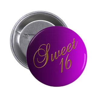 Sweet 16 Club Button purple