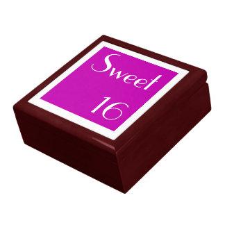 Sweet 16 custom design gift box