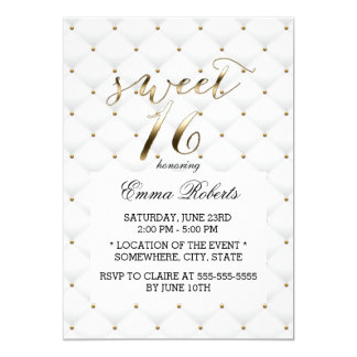 Elegant Sweet 16 Invitations Announcements Zazzle Com Au
