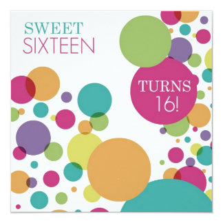 Sweet 16 Invitation Cards - Envelopes Included