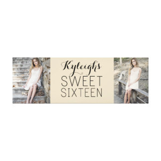 Sweet 16 Keepsake Collage Canvas Print