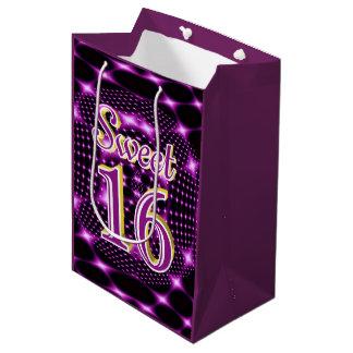 Sweet 16 medium gift bag