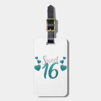 Sweet 16 Party Luggage Tag