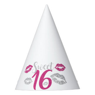 Sweet 16 Party Party Hat