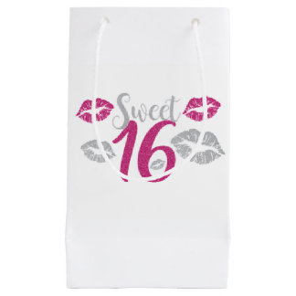 Sweet 16 Party Small Gift Bag