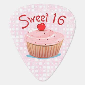 Sweet 16 Personalized 16th Birthday Plectrum