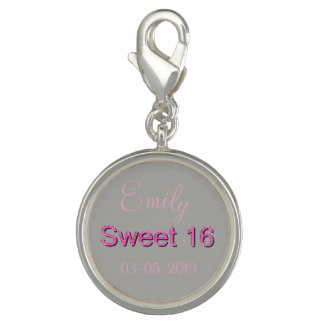 Sweet 16 Pink Number Sixteen 16th Birthday