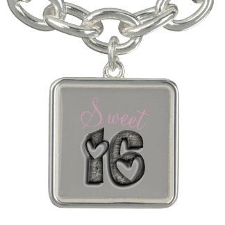 Sweet 16 Rustic Number Sixteen 16th Birthday