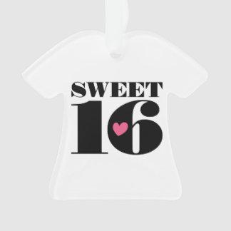 Sweet 16 Sixteenth Birthday Ornament