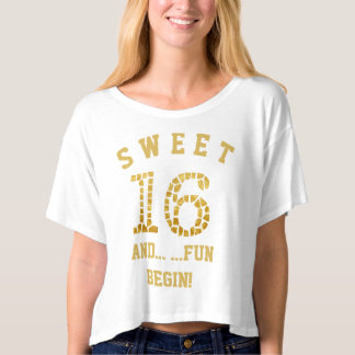 Sweet 16 | Sixteenth Birthday Party Celebration T-Shirt