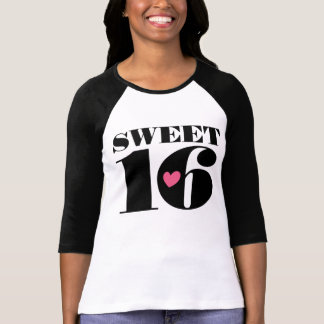 Sweet 16 Sixteenth Birthday Tee Shirt
