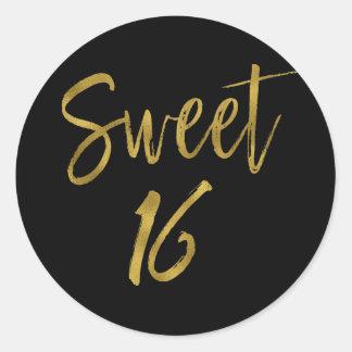 Sweet 16 | Sweet Sixteen Classic Round Sticker
