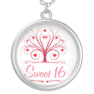 Sweet 16  - Sweetheart Tree Pendant