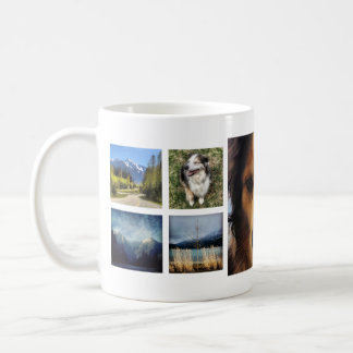 Sweet 9 Instagram Photos Collage Coffee Mug