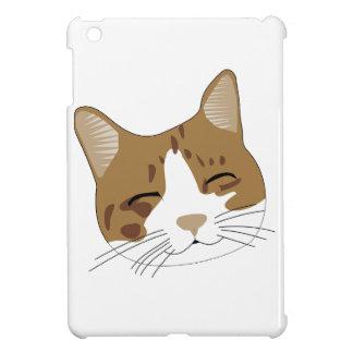 sweet, a happy cat cat case for the iPad mini