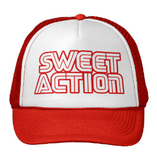 Sweet Action College Retro 80s Humor Cap