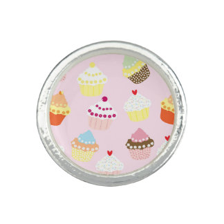 Sweet and Colorful Cupcake Pattern
