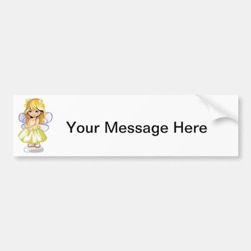Sweet and Gentle Fairy Bumper Sticker