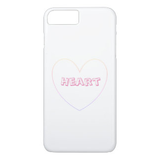 Sweet and lovely Pink hearts. iPhone 8 Plus Case