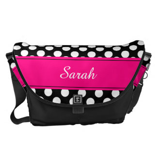 Sweet and Sassy Personalized Messenger Bag