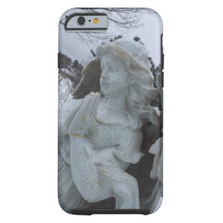 Sweet Angel Elizabeth watching over the Farm Tough iPhone 6 Case