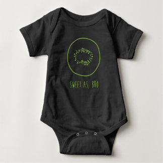 """Sweet As, Bro"" New Zealand Kiwi Baby Bodysuit"