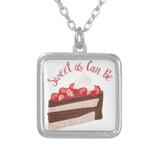 Sweet As Can Be Silver Plated Necklace