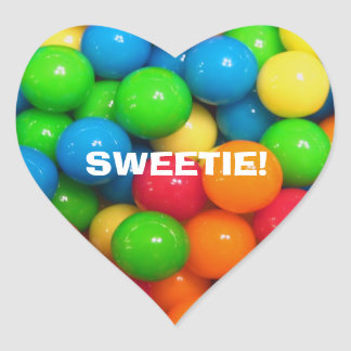 Sweet as Candy Valentine Day Stickers