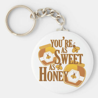 Sweet As Honey Key Ring