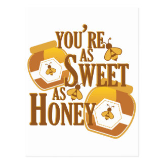 Sweet As Honey Postcard