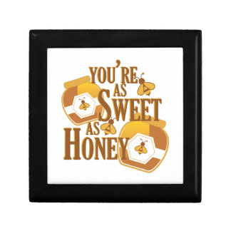 Sweet As Honey Small Square Gift Box