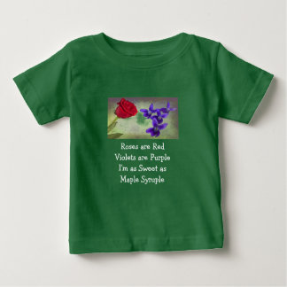 Sweet as Maple Syruple Baby T-Shirt