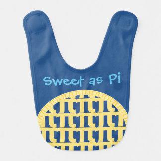 """""""Sweet as Pi"""" - Bib for Brainiac Babies"""