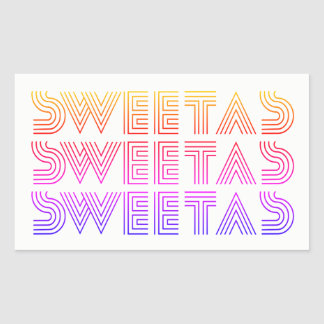 """Sweet As"" Rainbow Sticker"