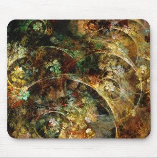 Sweet Autumn Abstract Fractal Art Mousepads