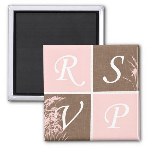 Sweet Autumn Bride RSVP Magnet