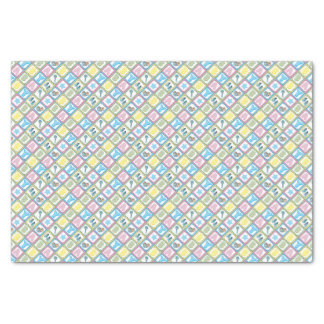 """Sweet Baby Boy Squares 10"""" X 15"""" Tissue Paper"""
