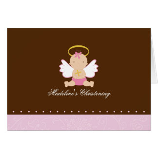 Sweet Baby Christening Card