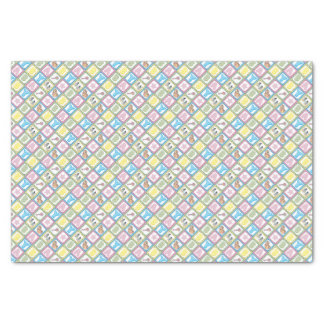 Sweet Baby Girl Squares Tissue Paper