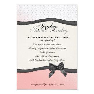 Sweet Baby Polka Dots and Bow Card