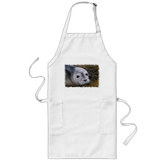 Sweet Baby Seal Long Apron