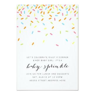 Sweet Baby Sprinkle Invite