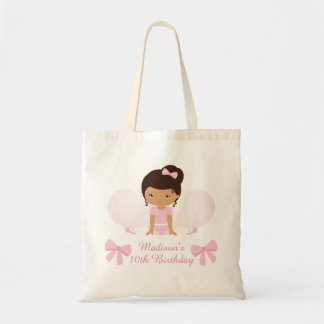 Sweet Ballerina Birthday Party Personalized Budget Tote Bag