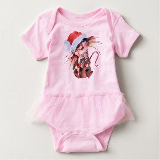 Sweet Ballettbody for Weihnachtsmäus Baby Bodysuit