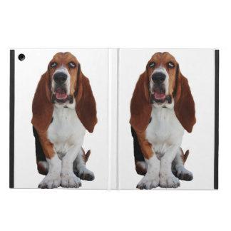 Sweet Basset Hound Dog iPad Air Covers